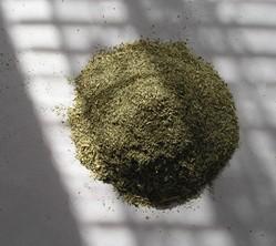 Suchá rastlinná drť