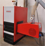 Kotel na biomasu PETROJET Biorobot 30