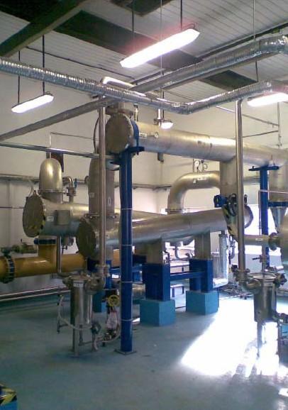 Chladiče bioplynu