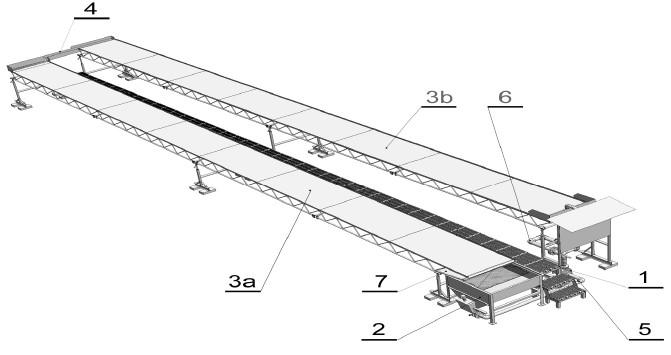 Experimentální modul solárního bioreaktoru třeboňského typu