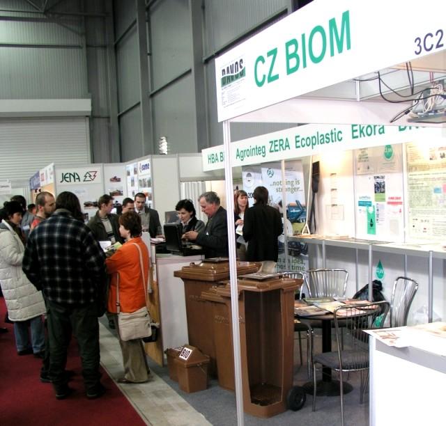 Celkový pohled na stánek CZ Biom