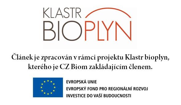 Článek byl sestaven v rámci projektu Klastr Bioplyn