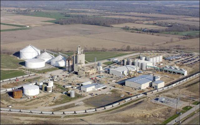 Biorafinerie na výrobu etanolu Clymers