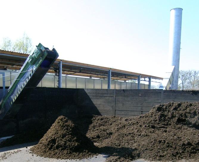 Suchý digestát lze použít na výrobu hnojiv nebo biopaliva