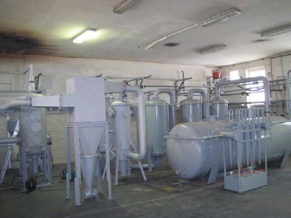 Zplyňovací linka na biomasu v D.S.K., spol. s r. o.