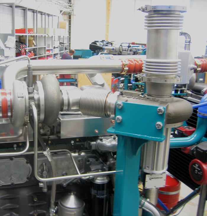 Kogenerační jednotka firmy SCHNELL MOTOR  s turbogenerátorem