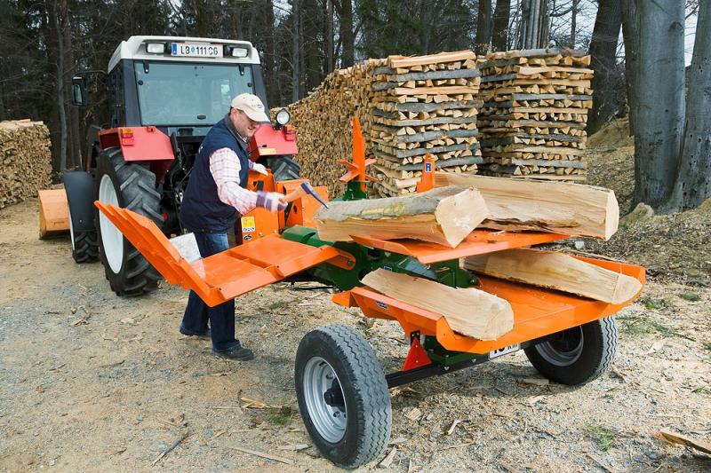 Náklady na výrobu snižuje zpracování dřevní hmoty přímo v lese