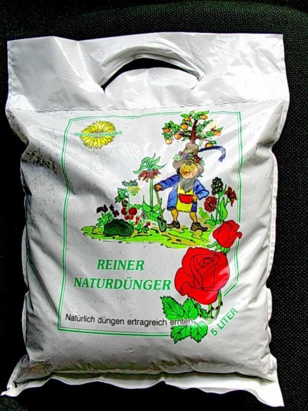 Digestát je prodáván spotřebitelům v 5 litrových sáčcích jako biohumus
