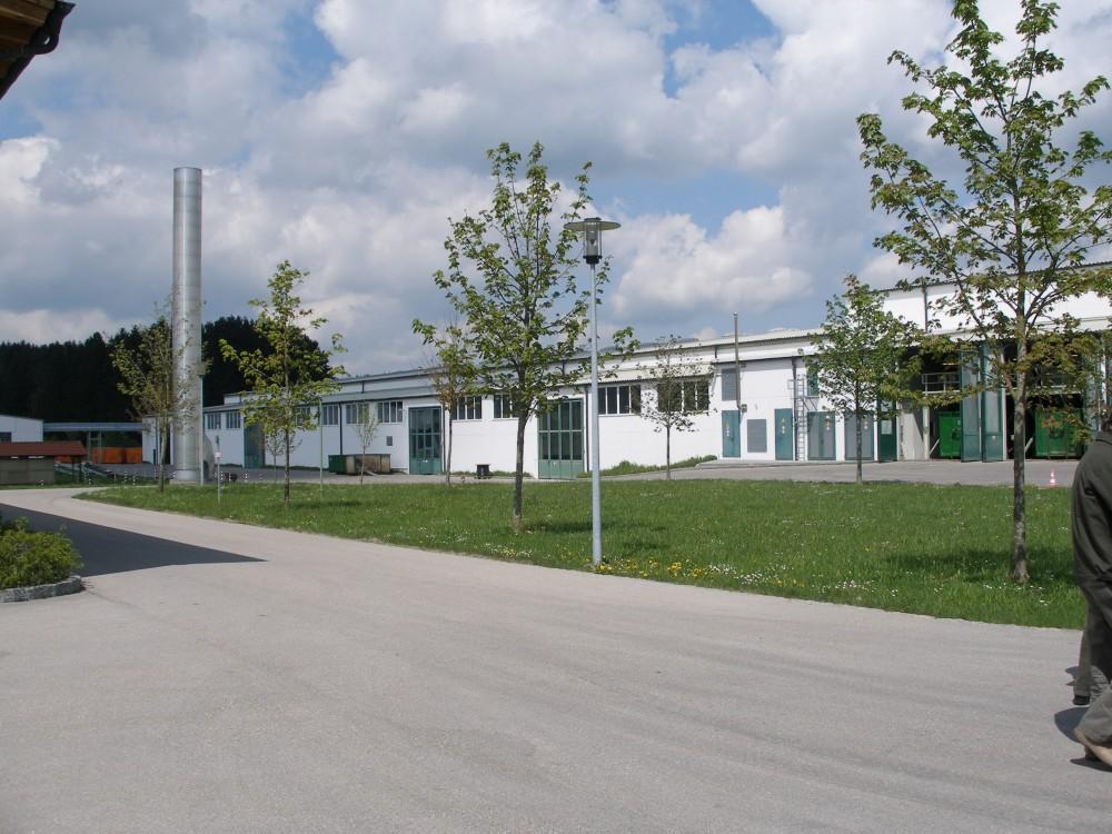 Celkový pohled na areál MBT poblíž Mnichova
