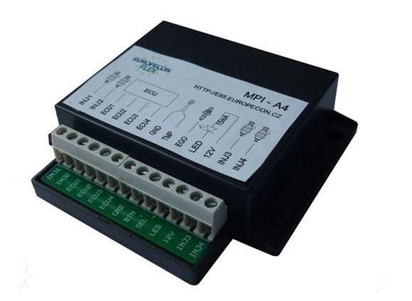 europeconFlex: Základem kitu europeconFlex pro přestavbu motoru na E85 je malá černá krabička s elektronikou
