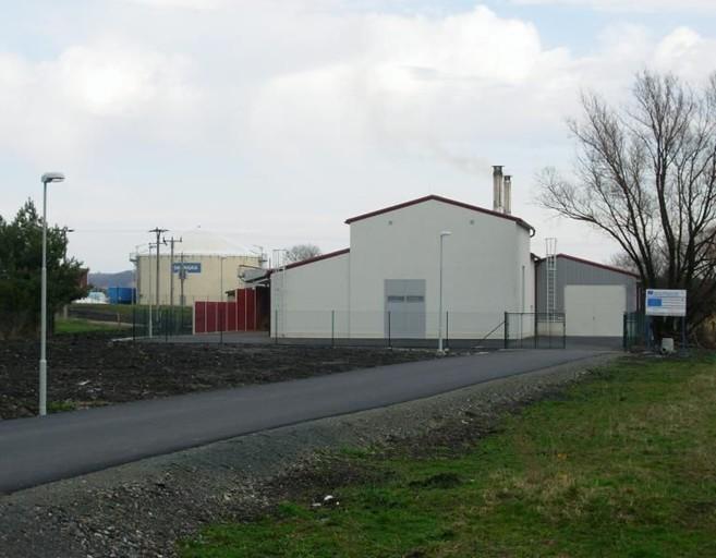 Bioplynová stanice Kněžice