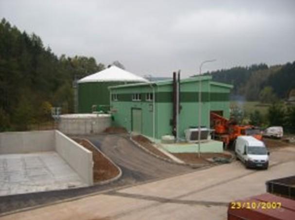 Bioplynová stanice Úpice