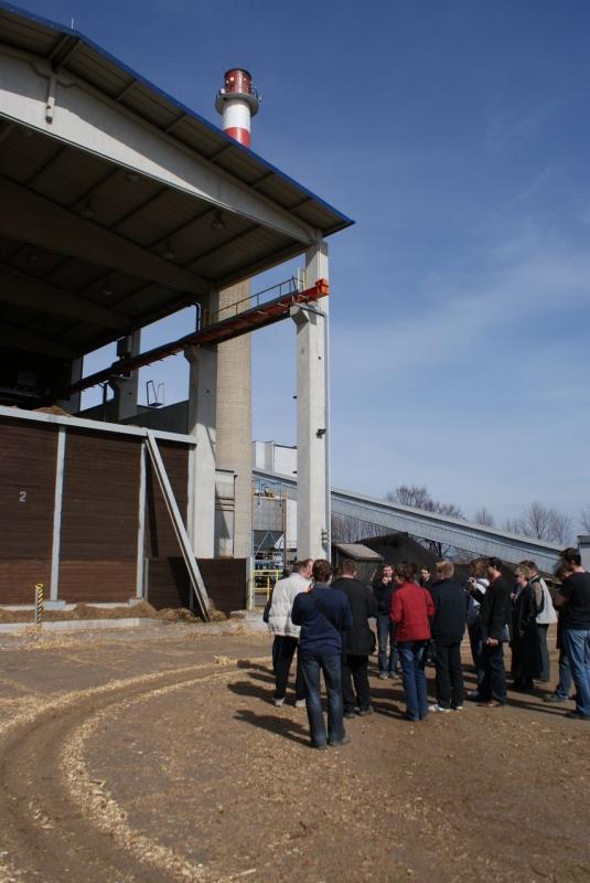 Energetický zdroj na biomasu v Žatci
