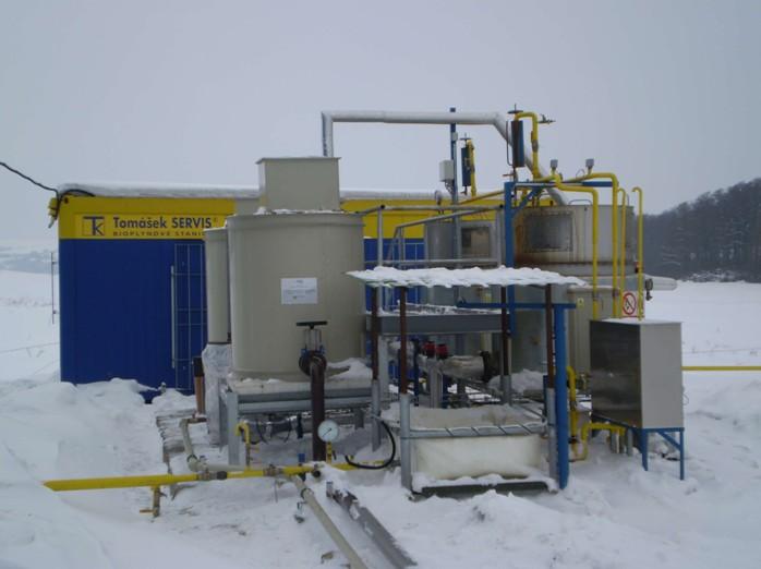 ExBPS v krutém zimním provozu (-30°C)