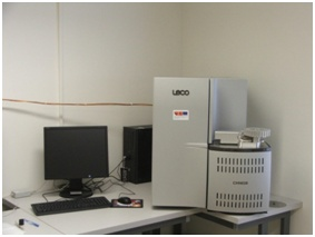 Elementární analyzátor LECO CHN 628 (archiv VÚZT, v.v.i.)