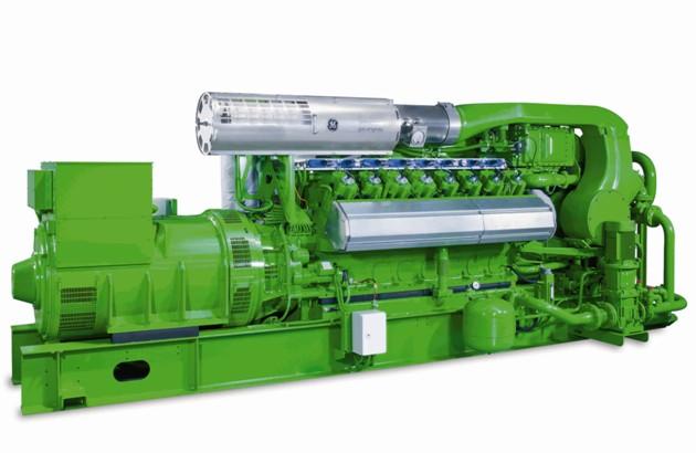 GE Jenbacher plynový motor