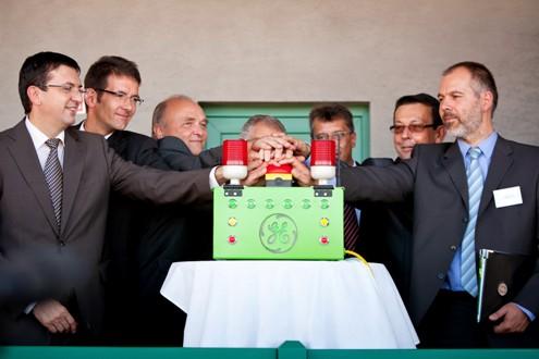 Szarvas - otevření bioplynové elektrárny