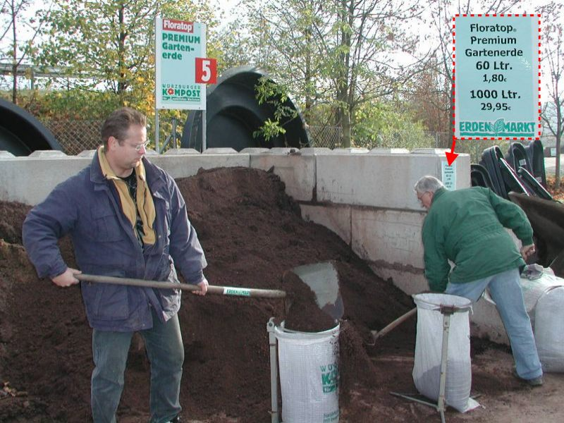 Prodej volně loženého kompostu