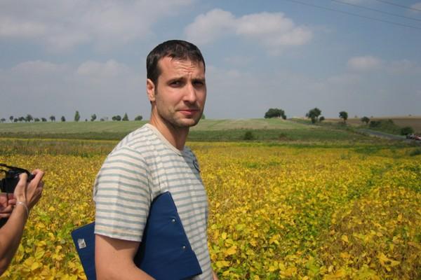 Ing. Přemysl Štranc, Ph. D. se zabývá pěstováním sóji již řadu let