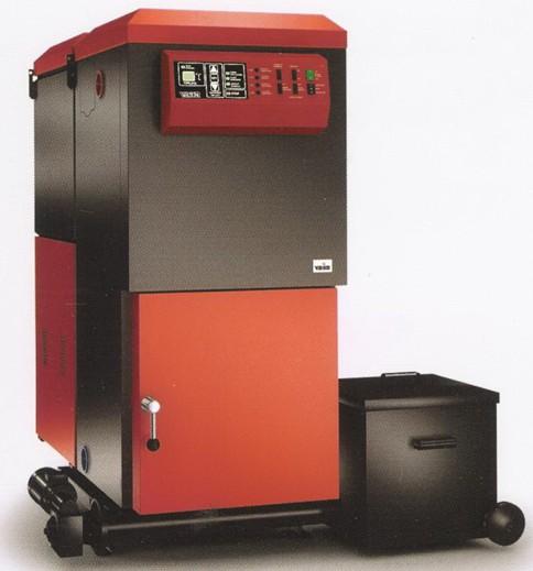 Kotel pro spalování alternativních pelet s automatickým   odpopelněním