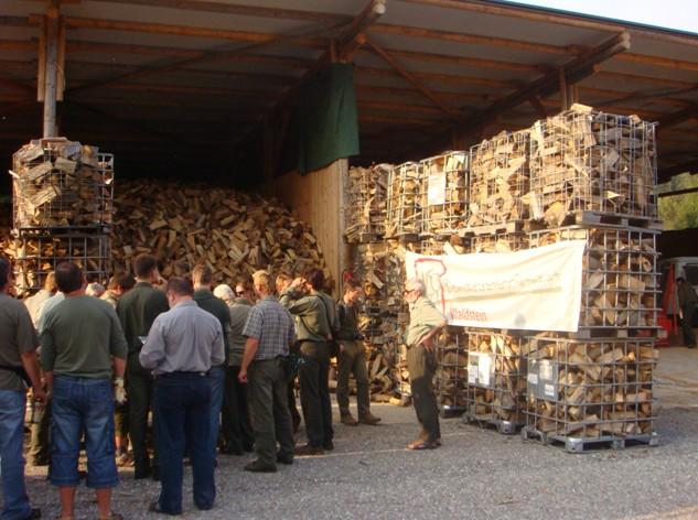 Středisko biomasy Waldstein