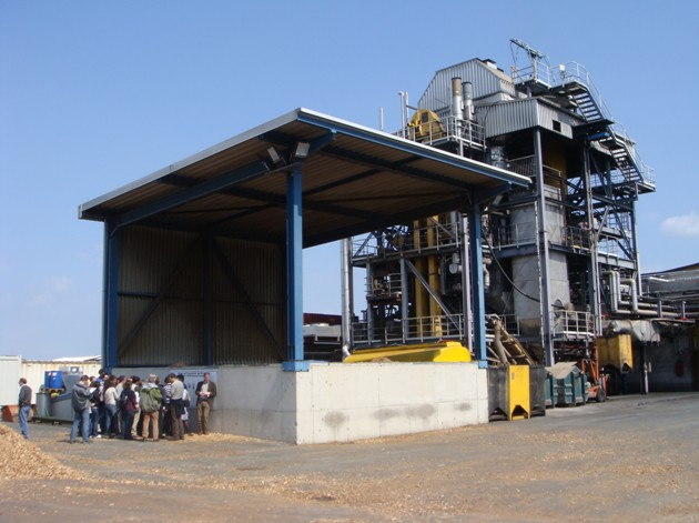 Güssing - výroba tepla a elektřiny