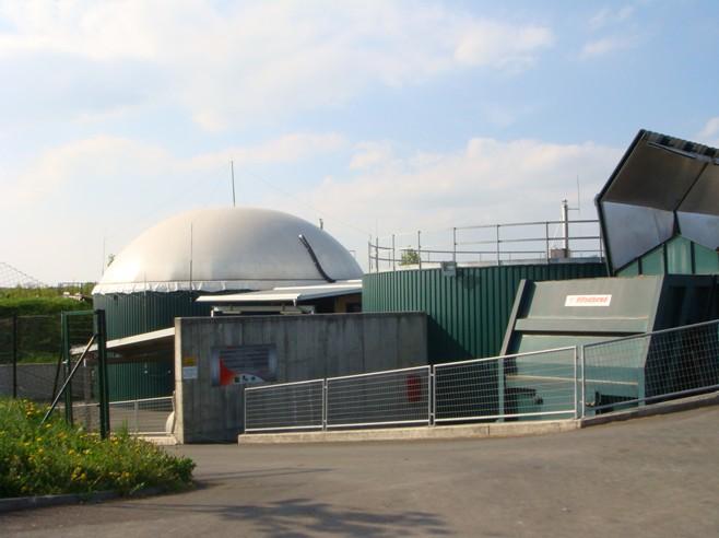 Výrobna bioplynu Strem