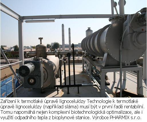 Zařízení k termotlaké úpravě lignocelulózy