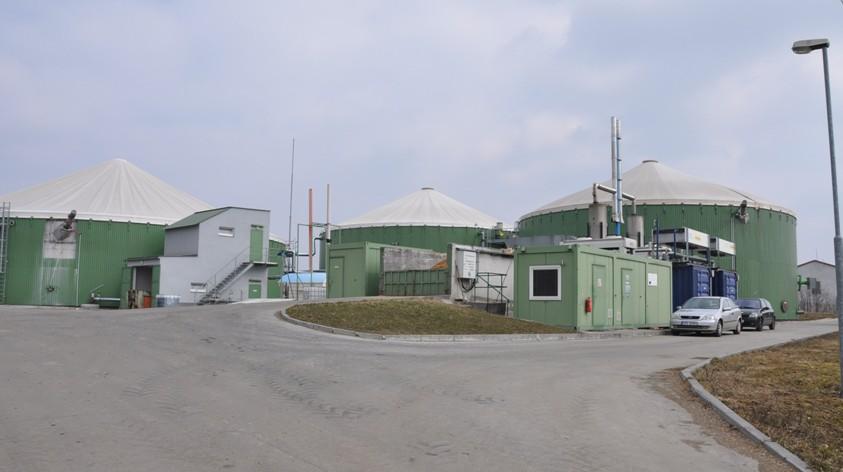 Bioplynová stanice Částkov s technologií Deutz