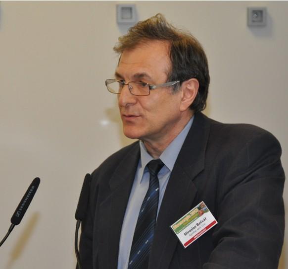 Ing. Miroslav Bečvář referuje o projektu na konferenci Bioenergie 2013