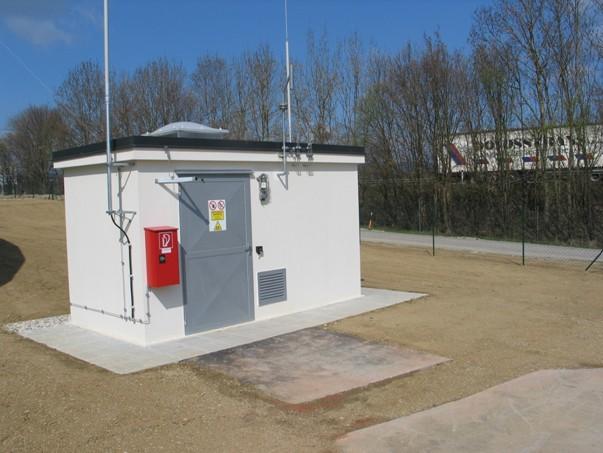 V napájecí stanici do plynové sítě se kontroluje kvalita plynu, který musí obsahovat 99,5 % metanu