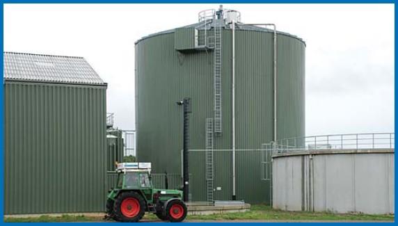 Ilustrační foto - bioplynová stanice