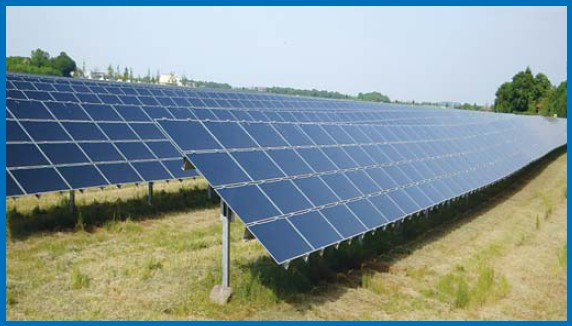 ilustrační foto - sluneční elektrárny