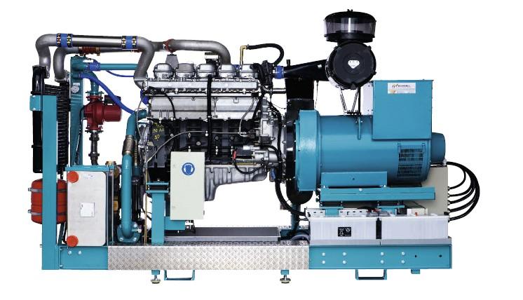 Bioplynové vznětové agregáty se zápalným paprskem110 kW / 130 kW / 150 kW / 170 kW