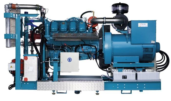 Bioplynové vznětové agregáty se zápalným paprskem290 kW / 340 kW