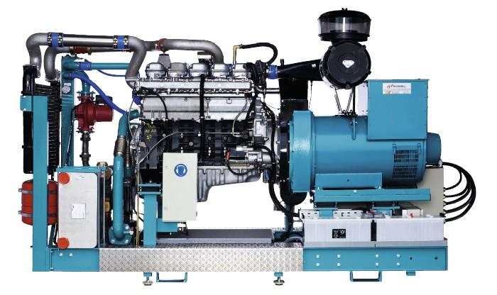 Agregáty na rostlinný olej 110 kW / 130 kW / 150 kW / 170 kW