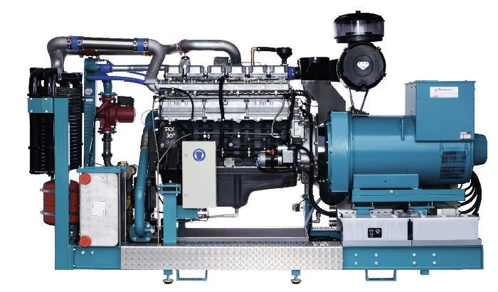 Agregáty na rostlinný olej 180 kW / 250 kW / 265 kW