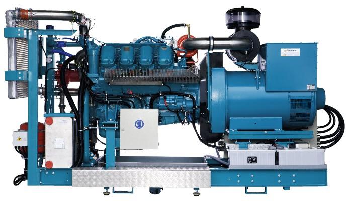 Agregáty na rostlinný olej290 kW / 340 kW