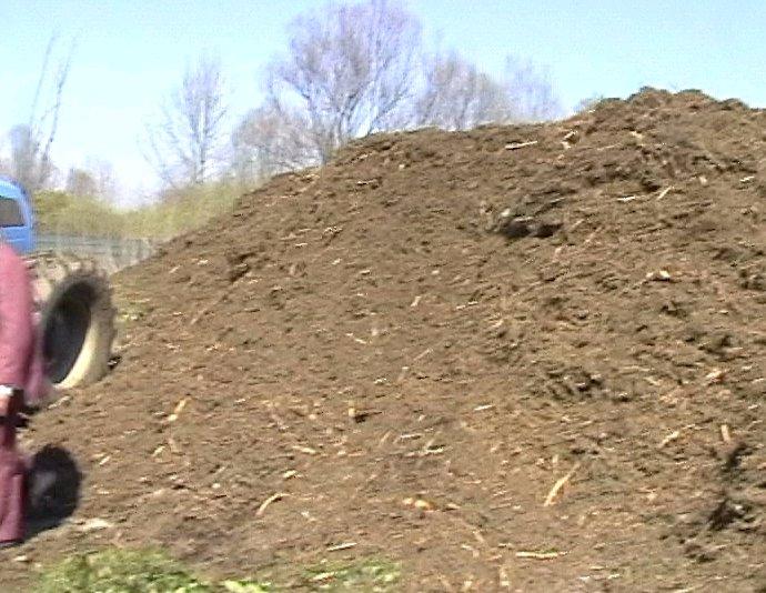 Skladování dřevního odpadu