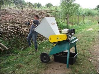 Drtič dřevní hmoty DH 10