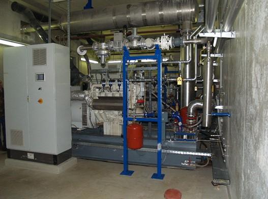 Kogenerační jednotky MAN s celkovým instalovaným výkonem 500 kWel
