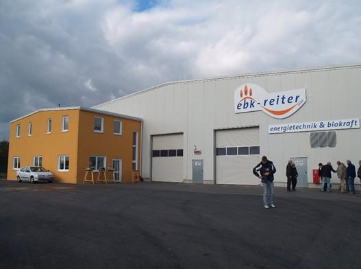 Pohled na přední část fermentační stanice ve Zwentendorfu