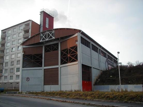 Centrální výtopny na spalování biomasy ve Žluticích na Karlovarsku