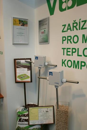 Monitorované veličiny při kompostování