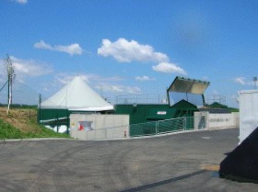Zemědělská bioplynová stanice v Rakousku