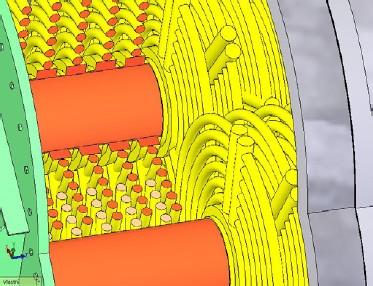 Detail rotorů