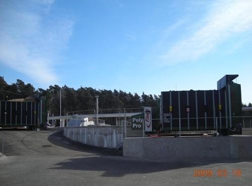 Bioplynová elektrárna - vyrobený bioplyn se přivádí do kogenerační jednotky