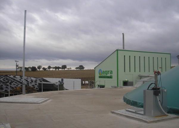 Bioplynová elektrárna Hochreiter v Deštné u Jindřichova Hradce