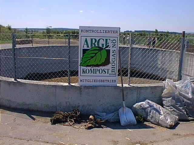 Logo asociace ARGE kompost und biogas na jímce