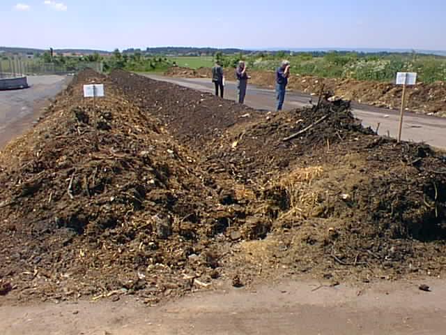 Zakládky kompostu
